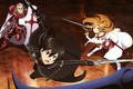 Картинка warrior, anime, novel, Sword Art Online, SAO, subarashii, oriental, japanese, asiatic, weapon, light, manga, asian, ...