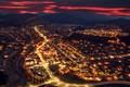 Картинка город, ночь, огни