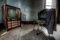Картинка телевизор, стул, комната