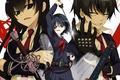 Картинка girl, sword, anime, katana, ken, blade, mask, martial artist, seifuku, Armed Girl's Machiavellism, Busou Shoujo ...