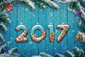 Картинка new year, holiday decoration, 2017, happy