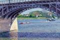 Картинка река, арка, Мост на Сене в Аржантёе, опора, Гюстав Кайботт, картина, Gustave Caillebotte