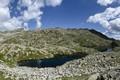 Картинка небо, облака, горы, камни, Италия, Laghi Campiglio