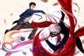 Картинка fight, monster, manga, crossover, japanese, eye, Kiseijuu Sei No Kakuritsu, Parasyte, Kaneki, alien, anime, Tokyo ...