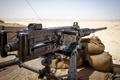 Картинка Browning, .50, bullets, machine gun, sand, desert, M2A1, M2HB, suan, ammunition