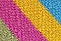Картинка полоски, текстура, вязание, разноцветные нити