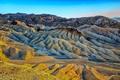 Картинка США, Zabriskie Point, Калифорния, Death Valley, California