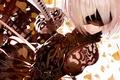 Картинка kawaii, girl, sword, game, robot, dress, woman, Square Enix, beautiful, katana, ken, face, blade, warrior, ...