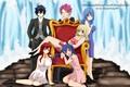 Картинка аниме, арт, Fairy Tail, Хвост феи
