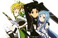 Картинка light, weapon, anime, pretty, asian, warrior, manga, japanese, Sword Art Online, oriental, asiatic, sugoi, SAO, ...