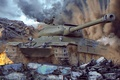 Картинка танк, world of tanks, wot, tank, советский танк, wotart, anderarts, ис 6, ис-6, is-6