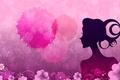 Картинка профиль, девушка, цветы