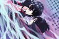 Картинка аниме, арт, парни, Rokudou Mukuro, Katekyo Hitman REBORN!, Hibari Kyoya