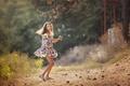 Картинка мыльные пузыри, девочка, Freedom, лето