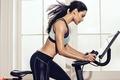 Картинка female, spin class, fitness