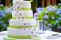 Картинка цветы, торт, свадьба, сладкое